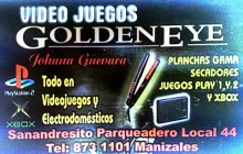 VIDEO JUEGOS GOLDENEYE - Manizales, Caldas